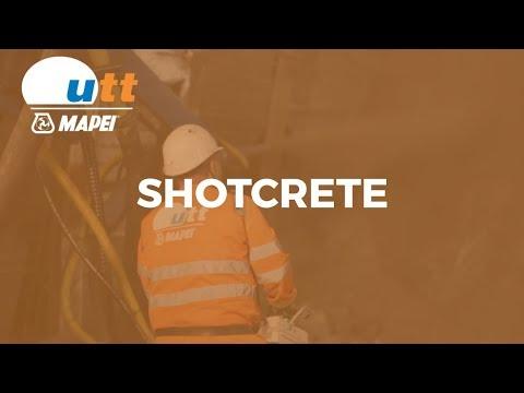 UTT Mapei - Shotcrete