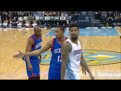 Evan Turner Full Highlights at Nuggets (2014.01.01) - 23 Pts
