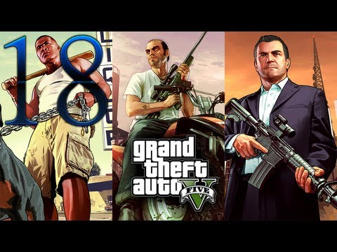 Grand Theft Auto 5 - Let's Play/Walkthrough - Part 18 - Minisub + Did Somebody Say Yoga