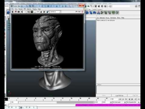 Zbrush to maya  pipeline tutorial