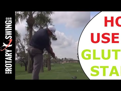 Angel Cabrera and Natalie Gulbis - Glutes for Stability