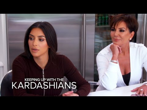 KUWTK | Kim Kardashian Reveals Kanye's Wild Music Video | E!