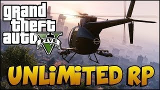 """""""GTA 5 RP GLITCH"""" : ONLINE BEST AFK UNLIMITED RP MISSION"""