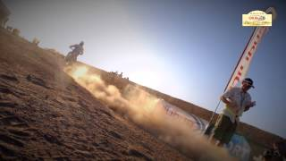 Clip vidéo MOTO Etape 2 - Rallye OiLibya du Maroc 2013