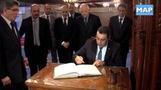 رئيس الحكومة التونسية يزور ضريح محمد الخامس
