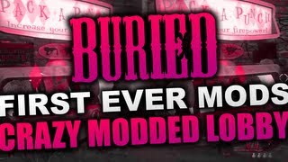 """""""Black Ops 2 Buried"""" Modded Lobby! Be a Teddy, Super Jump, God Mode + More! (""""Black Ops 2 Zombies"""")"""