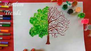Go Green - Plant a  tree, Green the earth. Clean the air, Live happily