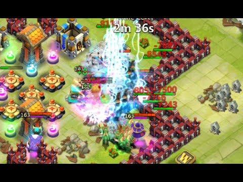 Castle clash defense base castle clash top 5 base defenders