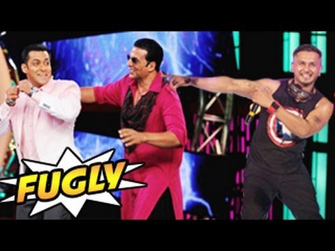 Salman Khan & Akshay Kumar's Yo Yo Honey Singh song in FUGLY