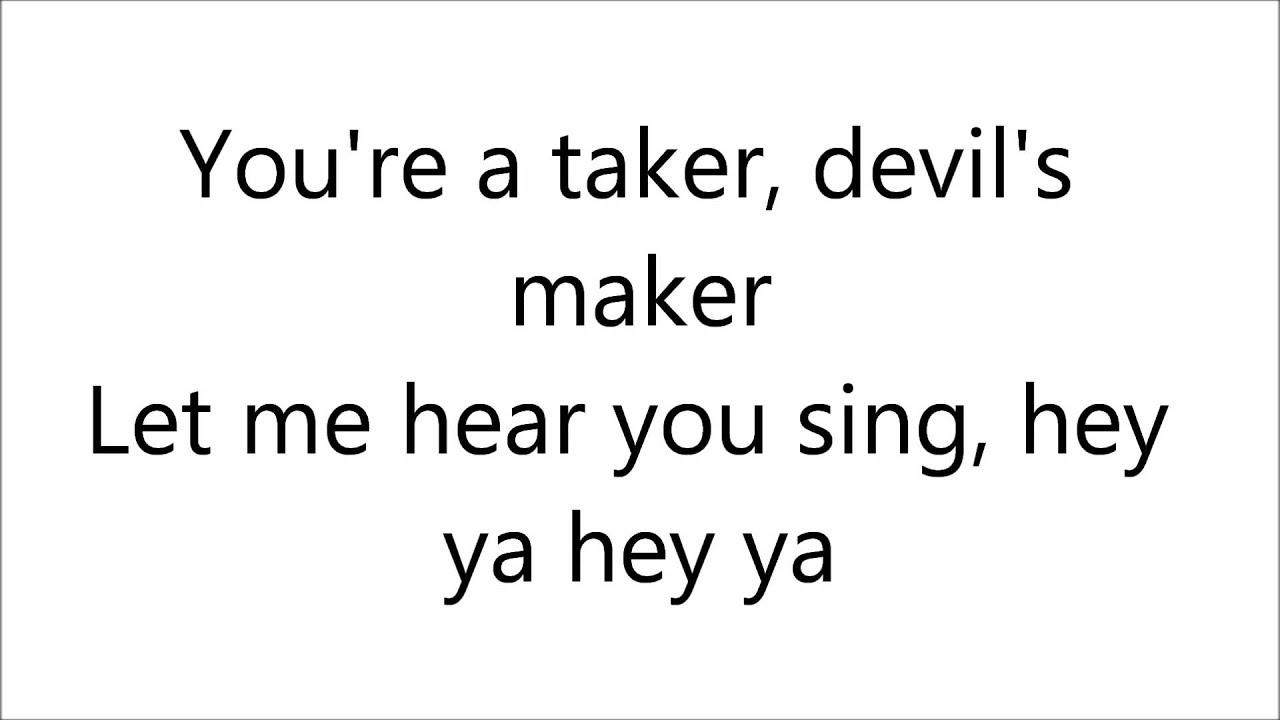 First aid kit wolf lyrics ???????