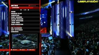 WWE 2K14: Create An Entrance Complete Showoff (Pyros