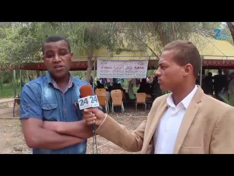 """""""فيديو"""" فعاليات الدورة الثانية من منتدى التوجيه والارشاد الذي تنظمه جمعية الاطر الشابة بتنجداد"""
