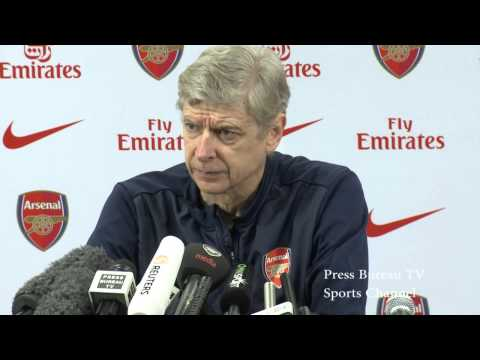 Arsene Wenger pre Arsenal vs Sunderland