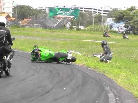 NINJA 250 R CRASH ON BRC