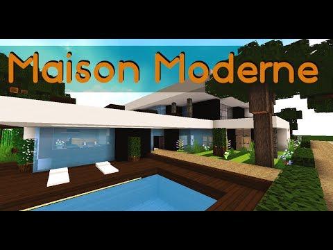 Minecraft : Maison Moderne