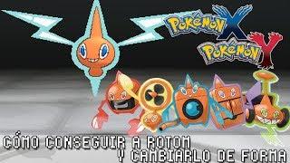 Pokémon X / Y ۩ Cómo Conseguir A Rotom Y Cambiarlo De