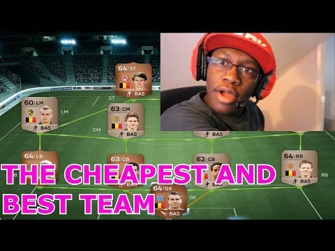 Fifa 14 - THE BEST AND CHEAPEST TEAM