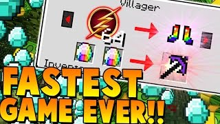 Fastest Game Ever! | Minecraft: Money Wars