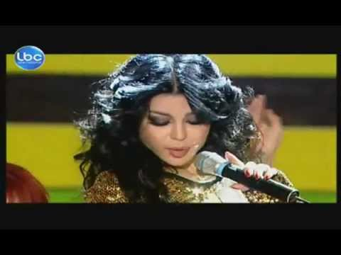 Haifa Wehbe - Badde Shouf [Live @ Elite Model Look Lebanon-2011]