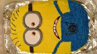 Despicable Me 2 Minion Cake