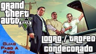 Grand Theft Auto V Logro / Trofeo: Condecorado