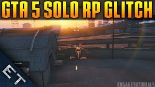 GTA V Online Glitches *NEW* Unlimited RP Glitch Solo 1
