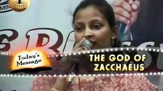 God of Zacchaeus