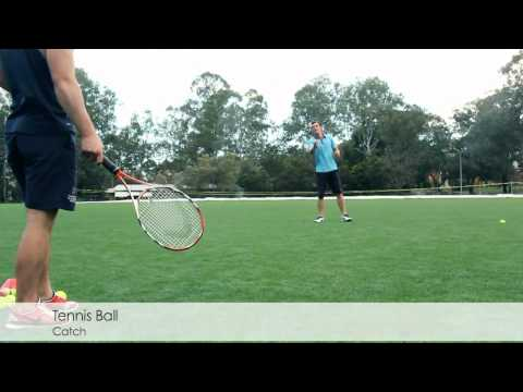 Cricket Training - Reaction Catching with Tennis Balls - Improve Catching in Slips and In field