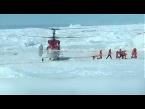 Cruise Ship Passengers Trapped in Antarctic Rescued