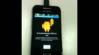 Como Conectar Samsung GALAXY Ace No Computador