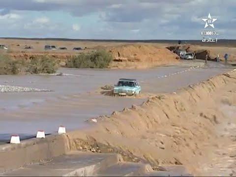 مخلفات الفيضانات بوادي غريس
