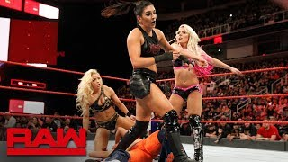 Mickie James & Alexa Bliss vs. Sonya Deville & Mandy Rose: Raw, Feb. 12, 2018