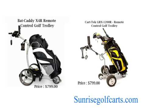Remote control golf carts for sale for golf lovers