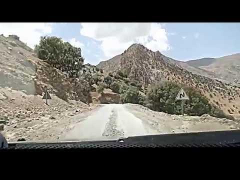 كارثة: شاهدوا الطريق إلى تيزي انسلي عبر إملشيل