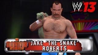 "WWE '13 Community Showcase: Jake ""The Snake"" Roberts"