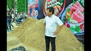 Đổ đống cát trên vỉa hè bị ông Hải phạt 10 triệu đồng - Tin tức mới