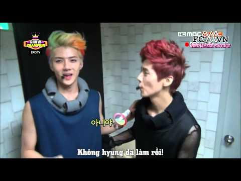 [Vietsub] 130619 EXO TV @ Show Champion [Ếch ộp subteam]
