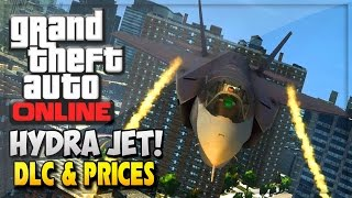 "GTA 5 Online Hydra Jet DLC New ""Flight School DLC"" Cars"