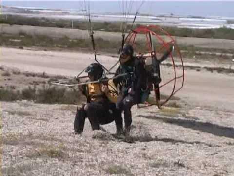 crazy paragliding - paramotor vol1