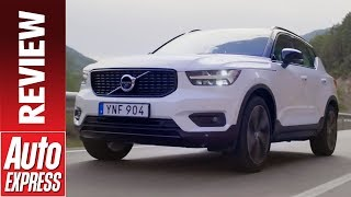 New Volvo XC40 review - Swedish SUV enters the fray. Auto Express.
