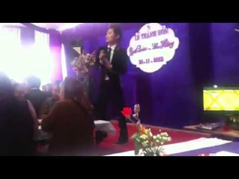 Du thiên hát Xóa hết trong đám cưới