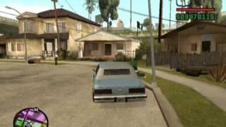 GTA San Andreas: Las Aventuras De CJ Con Sus Amigos.