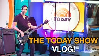 Playing on the biggest morning TV Show in America! 😮 - The TODAY SHOW GIG VLOG