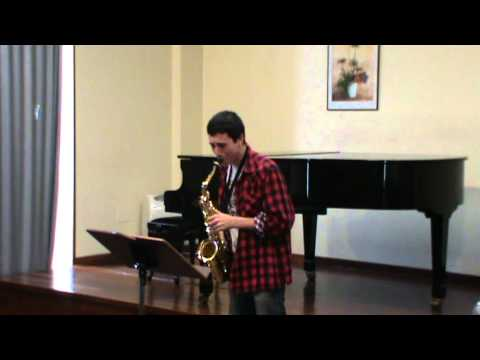 Aula Galega de Saxofón – Estudio Nº 40 de W. Ferling