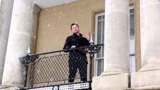 Bentley Priory | Stanmore | George Clarke in the snow