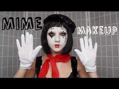 Misunderstood Mime   Halloween Tutorial ♡