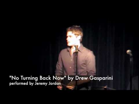 Jeremy Jordan sings No Turning Back Now by Drew Gasparini