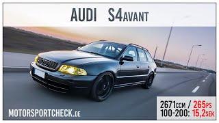 Audi S4 b5 0-100 Acceleration Topspeed videos