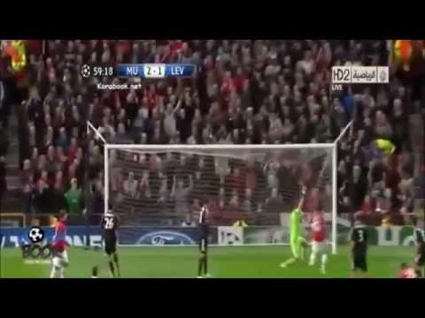 Goal Evaluation Manchester United vs Leverkusen 4-2 Champions League 17/09/2013 Van Persie 59'