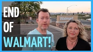 RV Living Full Time - Walmart's NEW Plans for Parking Lots (2018)